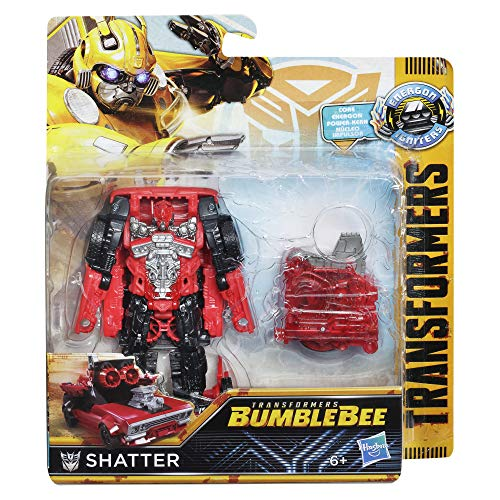 TRANSFORMERS Saga – Robot propulsión Shatter Coche Power Plus Series 11 cm – Juguete transformable 2 en 1