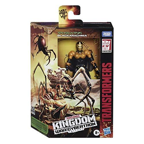 Transformers War For Cybertron Deluxe Black Arachnia (Hasbro F06705X0)