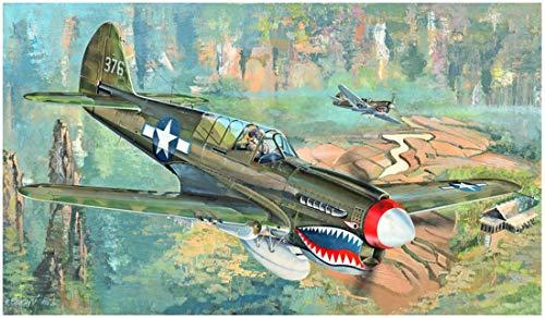 Trumpeter 02212 1/32 P-40N - Maqueta de Kitty Hawk