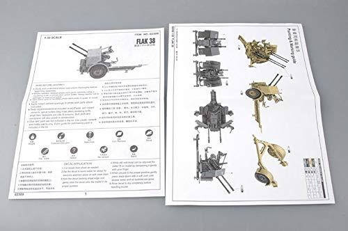 Trumpeter 2309 - LAK 38 German 2.0 cm Ant [Importado de Alemania] , color/modelo surtido