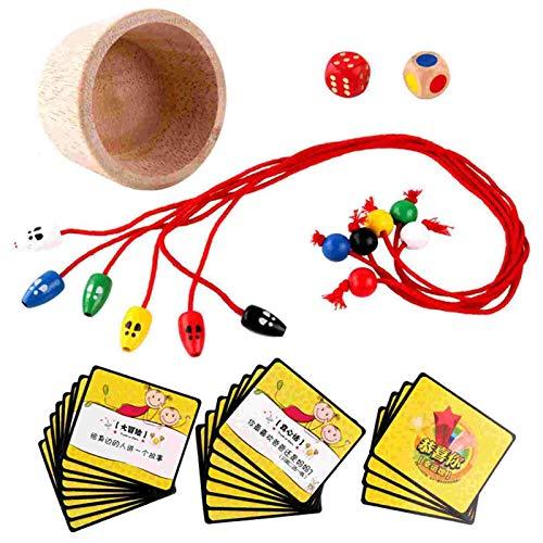 tulipes Ratón para atrapar Gatos para niños,Juguete de Madera para atrapar Ratones,5,90×3,94×1,97 Pulgadas/Herramienta interactiva para Ratones de 6 Colores Diferentes,para la Capacidad de Usual