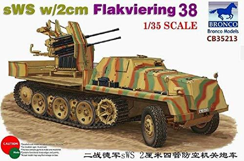 Unbekannt Bronco Models cb35213–Maqueta de SWS 2cm Flak Vie Anillo 38
