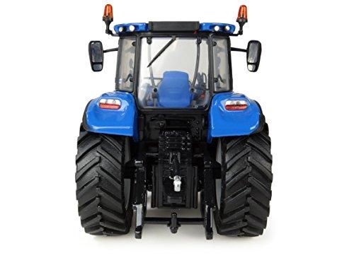 Universal Hobbies UH4958 New Holland T5.120 - Cargador Delantero, Color Azul