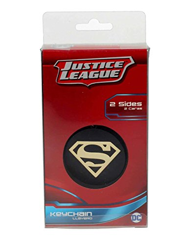 Universo DC Llavero logo de metal Superman, color dorado (SD Toys SDTWRN20925)