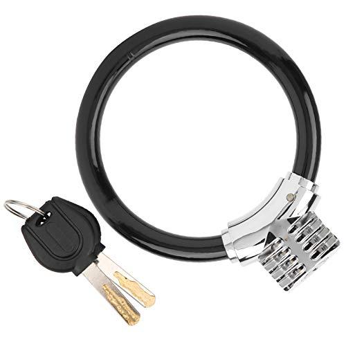 VGEBY Candado de Cable para Bicicleta, Cable de Acero de Seguridad para Bicicleta Cable para candado de Bicicleta para Bicicleta Ciclismo al Aire Libre