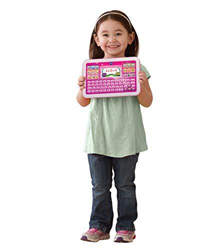 VTech- Pantalla en Color Juguete Educativa, Tableta Little App, Blanco/Rosa (3480-155257)