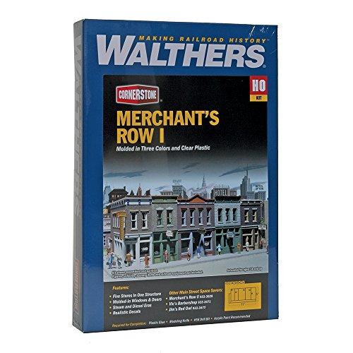 Walthers Cornerstone Kit construccion Escala HO Calle Comercial - 5 Tiendas