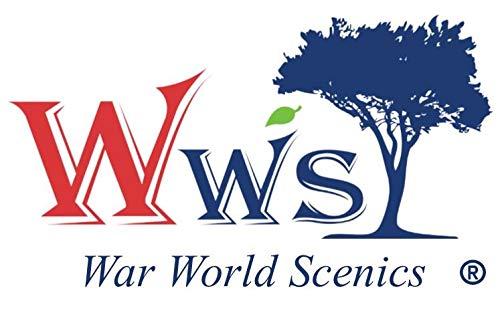 War World Gaming - Kit de Materiales Base Cañón Rocoso - Wargaming Miniatura Maqueta Diorama Modelismo Minis Wargames Escenografía Escala