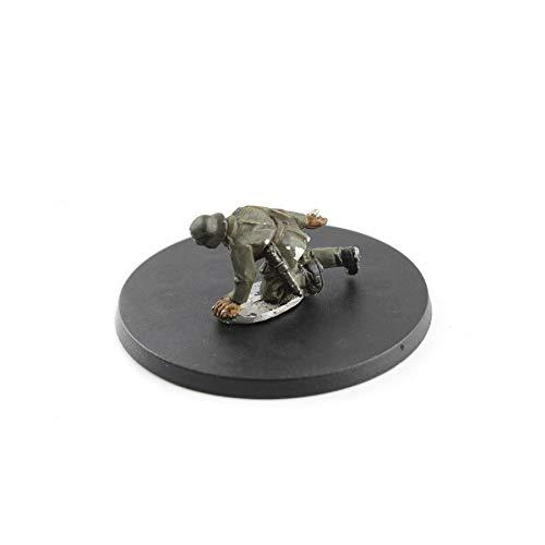 War World Gaming - Peanas Redondas Planas 50mm Multiusos (Elige cantidad) - Wargames Históricos, Wargaming, Base, Escenografía, Miniaturas, Dioramas, Figuras, RPG