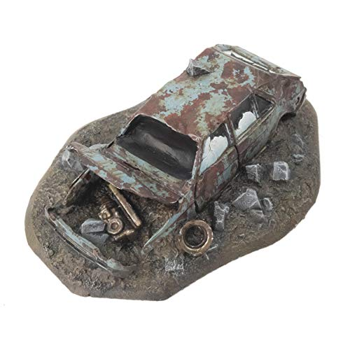 War World Gaming War-Torn City - Kit 2 Escombros y Coche Dañado - 28mm Escala Sci-Fi Wargaming Modelismo Dioramas Zombis Post Apocalíptico Bombardeado Destruido Wargame Minaturas