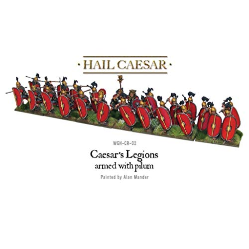 Warlord Games Legiones de César de 28 mm Armadas con Pilum # WGH-CR-02