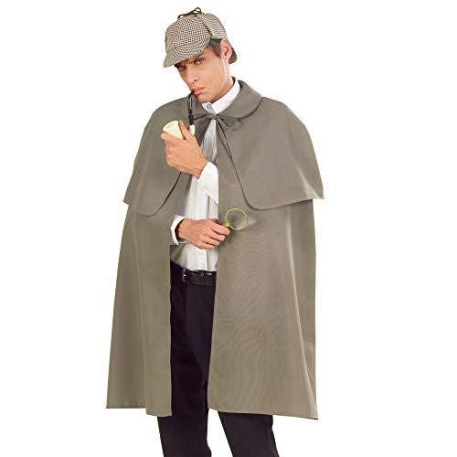 WIDMANN?CS923358?Disfraz, abrigo con gorro gris, 100cm