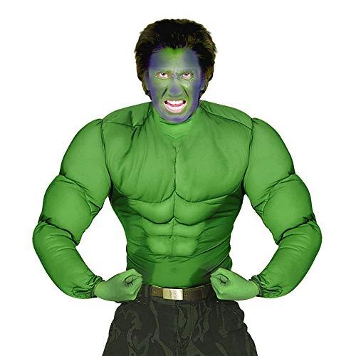 WIDMANN- Disfraz de Camiseta Verde para niños, Color, XL (Desconocido S/12624)