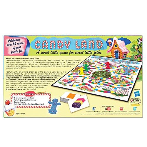 Winning Moves Games 1189 WIN1189 Candy Land Juego 65 Aniversario, Multicolor, Ninguno