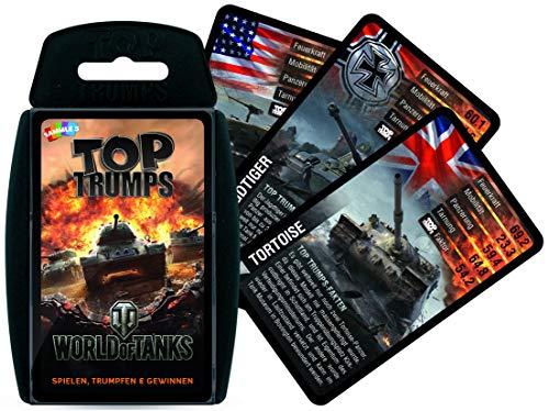 Winning Moves- Top Trumps-World of Tanks Cartas, Color juego de bailes. (63346) , color/modelo surtido