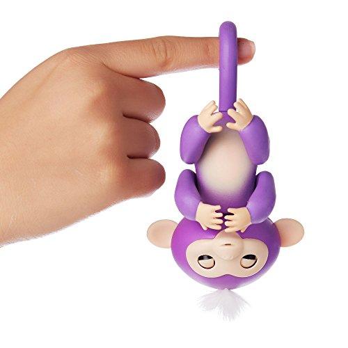 WowWee - Fingerlings Interactivo bebé mono, Púrpura (3704) , color/modelo surtido