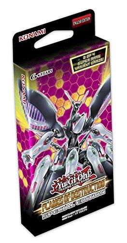 YU-GI-OH!- Tarjetas de Trading Edición Especial Flames of Destruction, Multicolor (Konami FLODSE)