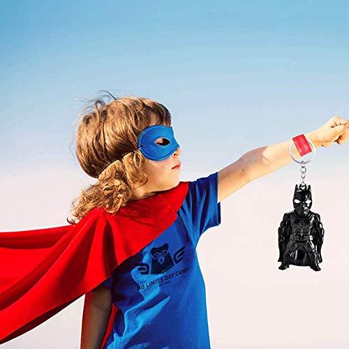 YUIP Avengers 4 Endgame Superhéroe Llavero, Marvel Fans Llavero SuperHeroes The Avengers Llavero, Llavero llavero,Iron Man Spiderman Batman Capitán América Llavero, 6PCS