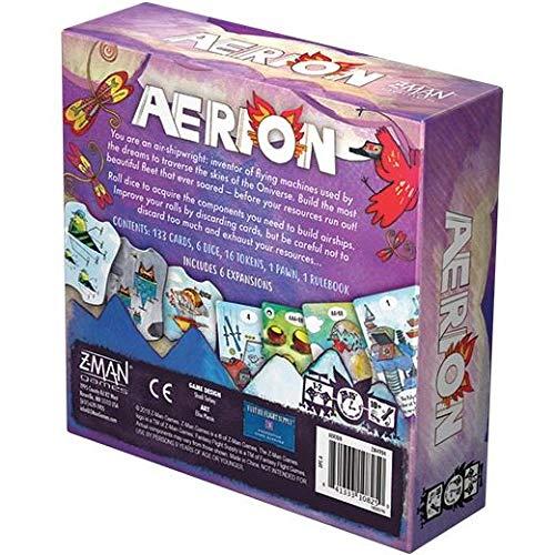 Z-Man Games ZMG4904 Aerion, colores variados , color/modelo surtido