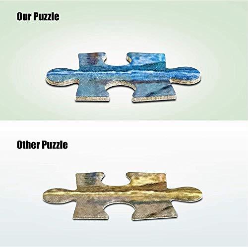 ZGNH Puzzles 1000 Piezas Fantasía Art Sword Knight Lunar Eclipse Park Madera Puzzle, niño Juguete Educativo Intelectual de Adulto descompresión,Regalo Ideal La Mejor DIY Decoración hogareña