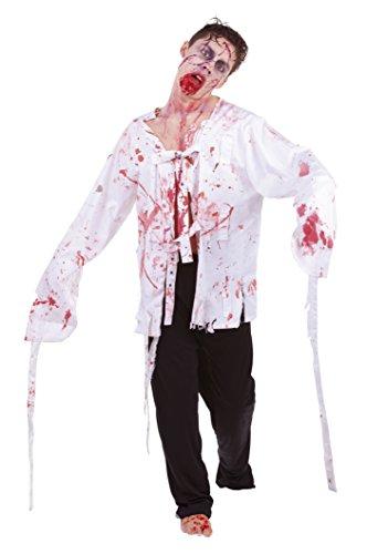 Zombies - Disfraz de zombie zumbado, para adultos (Rubie's S8252)