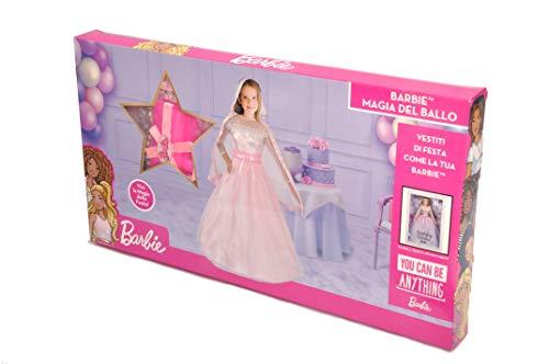 Ciao-11661.5-7 Barbie Magic Ball (Edición Coleccionista Deluxe) Disfraz de Niña, multicolor, 5-7 años (11661.5-7)