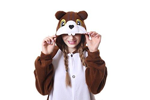 Cosplay Pijamas De Una Pieza Ropa De Dormir Carnaval Ardilla Camisones Disfraces Halloween Trajes De Una Pieza Navidad Cambio De Roles Ropa Exotico Chico