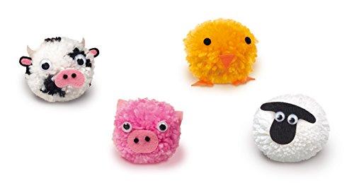 Diset Juego de manualidades para crear 4 animalitos co ovillos de lana