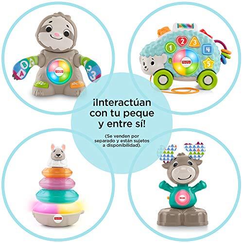 Fisher-Price Llama Linkimals, Juguete interactivo bebés +9 meses (Mattel, GHY78) , color/modelo surtido