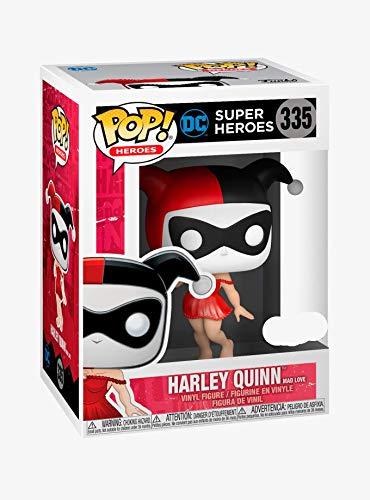 Funko POP! Heroes: DC Super Heroes #335 - Harley Quinn [Mad Love] H.T. Exclusive