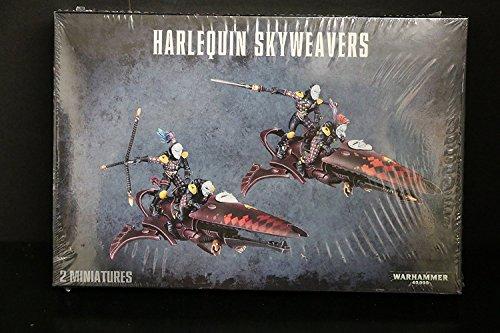 Games Workshop-FBA_58-11 Figura de acción Warhammer 40K Harlequin Sky Weavers