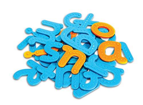 Learning Resources- Set de Letras táctiles, Color (LSP0192-UK)