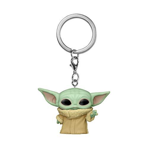 Llavero Pocket POP Star Wars The Mandalorian Yoda The Child