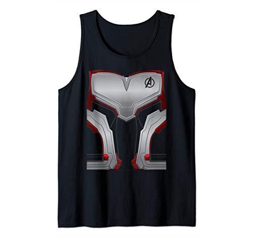 Marvel Avengers Endgame Super Hero Halloween Costume Camiseta sin Mangas