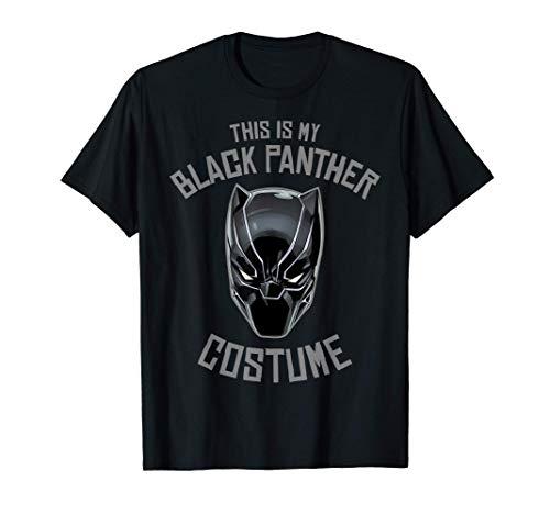Marvel Black Panther Halloween Costume Camiseta