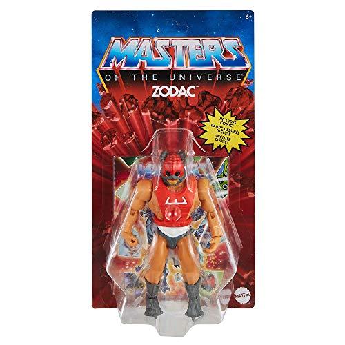 Masters of the Universe (Masters del Universo Orígenes) Figura Zodac, muñeco articulado de juguete (Mattel GVW63)
