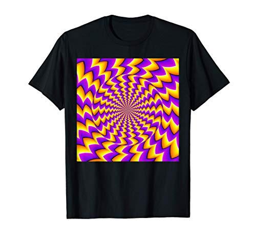 Mind Trick Trippy - Diseño de espiral Camiseta
