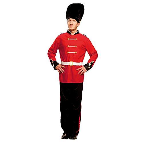 My Other Me Me-200997 Policía Disfraz de guardia inglesa para hombre, M-L (Viving Costumes 200997)