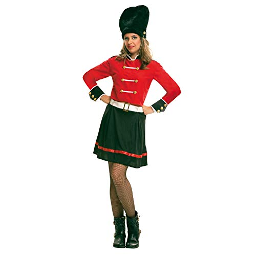 My Other Me Me-200998 Policía Disfraz de guardia inglesa para mujer, M-L (Viving Costumes 200998)