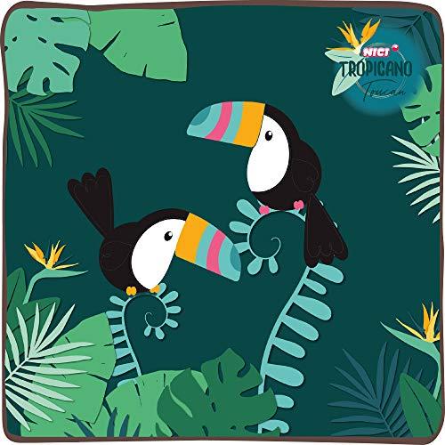 NICI- Tucán Tropical Llavero, Color Verde (45160)
