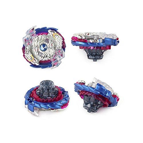 OBEST Juego de empuñadura de Metal con Base Arena Fusion 4D Caja de 4 Gyro Fight Master