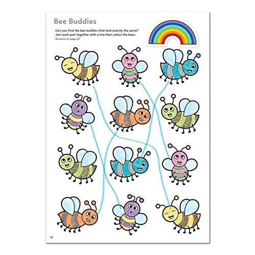 Orchard Toys Libro para colorear con pegatinas More Things To Do – Libro de actividades educativas – 5 años + CB13