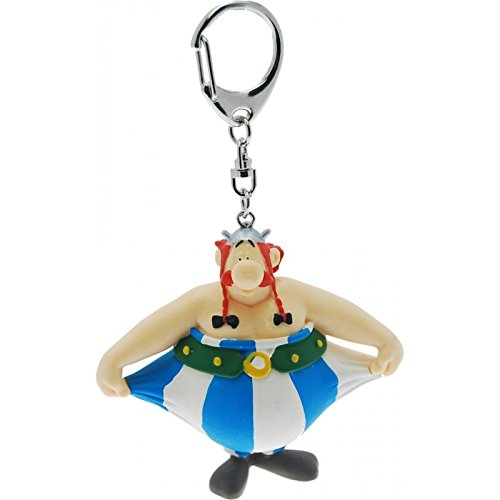 PLASTOY -Asterix-Obelix Holds Trousers Keychain