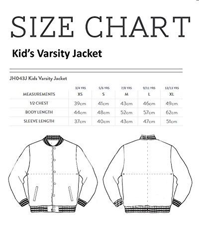 Prince Vegeta Constellation Dragon Ball Z Kid's Varsity Jacket