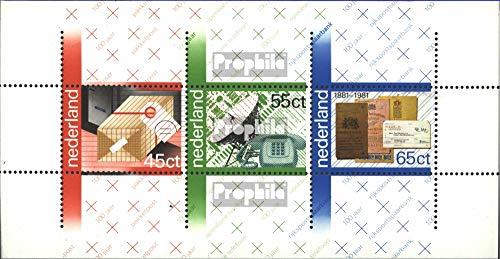 Prophila Collection Países Bajos Michel.-No..: 1175-1197, Bloque 23 (Completa.edición.) año 1981 completaett 1981 P.T.T., beUntriz, Voor het niño u.Un. (Sellos para los coleccionistas)