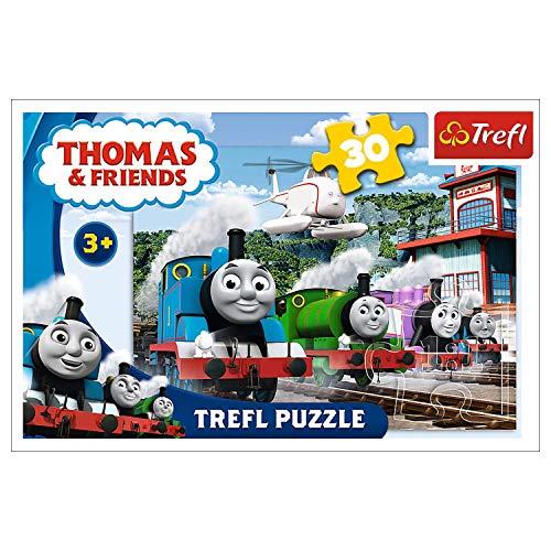 Puzzle 60 Tomek i Przyjaciele Wyscig na torach