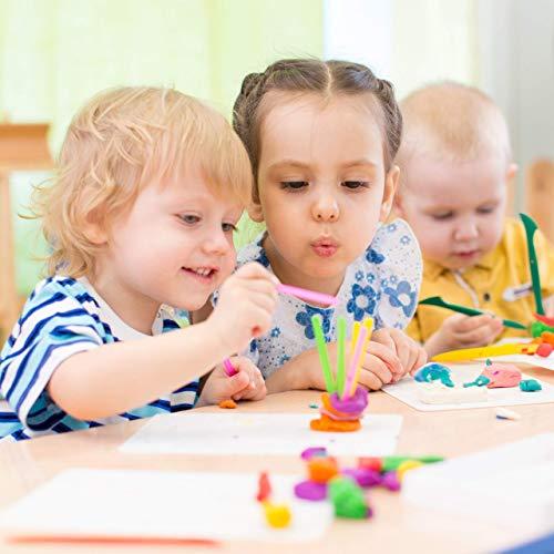 Relaxdays Dados Grandes para Niños, Pack de 6, Juguete de Espuma, Poliuretano, Multicolor