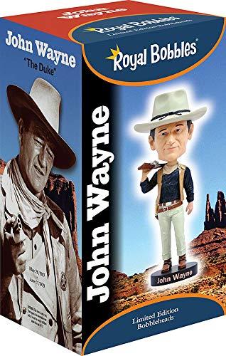 Royal Bobbles - Muñeco cabezón de John Wayne - El Vaquero