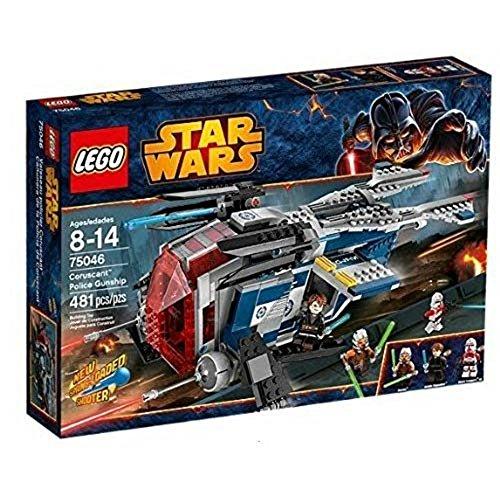 Star Wars Juego de la Cañonera de la Policía de Coruscant de Lego