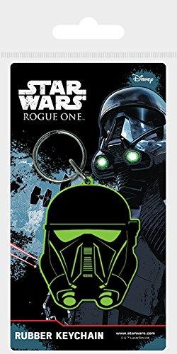 Star Wars Llavero Rogue One, Goma, Death Trooper Multicolor, 4,5 x 6 cm, Color NC, Unico (RK38594C)